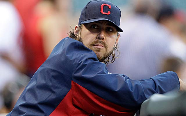 Chris Perez, fined $750 for his tweet, says he wants to know 'what's the line.' (Getty Images)