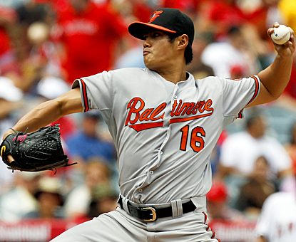 Wei-Yin Chen doesn't factor into the decision, but still gives up just one run on five hits in 6 1/3 innings for the Orioles. (AP)