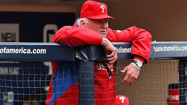 Despite the early struggles, Phillies manager Charlie Manuel is still confident in his team. (US Presswire)