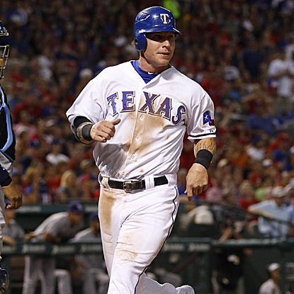 Josh Hamilton drives in two runs in Rangers' win, and now leads the American League with 24 RBI. (US Presswire)