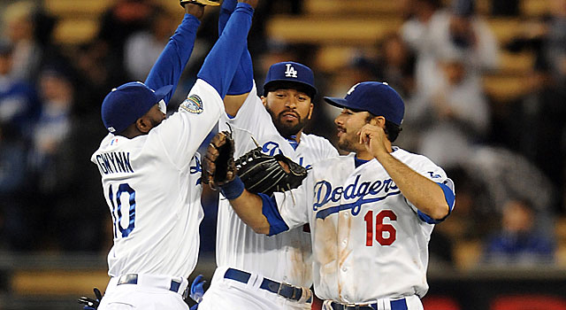 The Dodgers are off to a great start and will finally see their new ownership group take over. (US Presswire)
