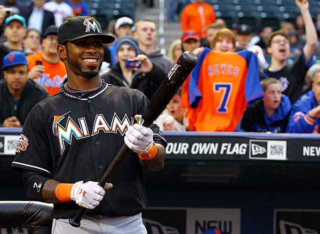 Reyes' positive outlook, even amid boos at Citi Field, hasn't helped his hitting. (Getty Images)