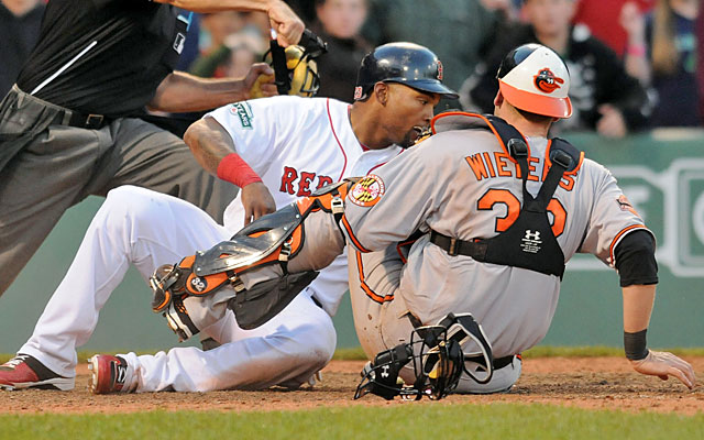 After their weekend sweep of the Red Sox, the Orioles (briefly) had the best record in baseball. (Getty Images)