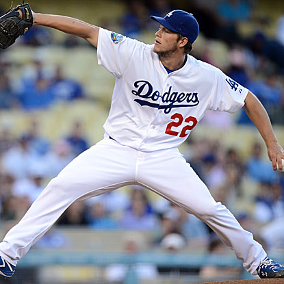 In a matchup of aces, the Dodgers' Clayton Kershaw outduels the Diamondbacks' ace Ian Kennedy.  (Getty Images)