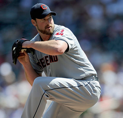 Derek Lowe notches his first shutout since Aug. 31, 2005. The 38-year-old allows six hits en route to his sixth win. (Getty Images)
