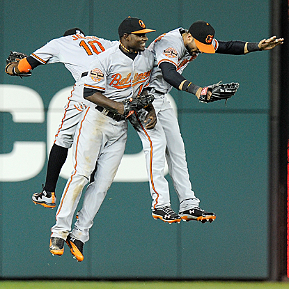 With their victory over the Nationals, the Orioles enjoy a five-game winning streak for the second time this season.  (Getty Images)