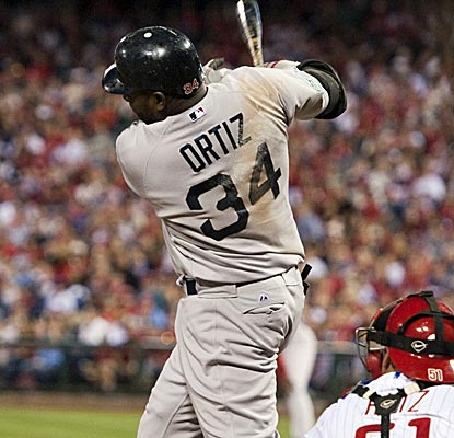 David Ortiz continues his hot start to the year, driving in a pair of runs with a homer and a single.  (US Presswire)