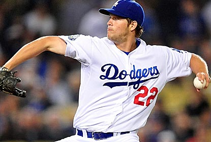Clayton Kershaw throws the seventh complete game of his career in shutout fashion against the Cardinals.  (US Presswire)