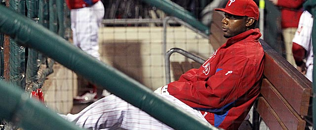 Howard, a three-time All-Star and former MVP, has been sidelined all season for the Phillies. (Getty Images)