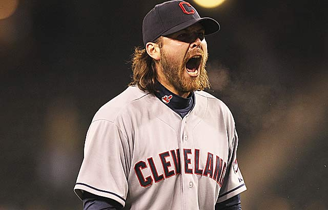 Chris Perez lashes out at fans for their support of the first-place Indians. (Getty Images)