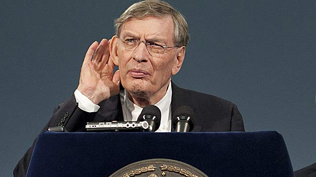 Bud Selig was previously reluctant to add replay, but started with HR calls in 2008. (Getty Images)