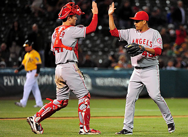 Thanks to right-hander Ernesto Frieri, the Angels have someone solid coming out of the bullpen. (US Presswire)