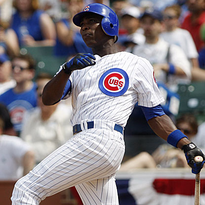 Alfonso Soriano's two-run homer in the sixth inning put the Cubs ahead for good in their win over the Padres.  (US Presswire)