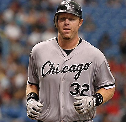 Adam Dunn provides all the offesne the White Sox need, connecting for a two-run home run in the sixth inning.  (US Presswire)