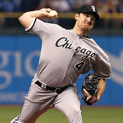 The White Sox' Philip Humber allows two runs over seven innings to earn his first win since his perfect game in April. (US Presswire)