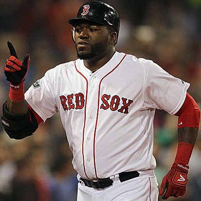 David Ortiz homers and doubles twice to lead the Red Sox past the Tigers and move above .500. (Getty Images)