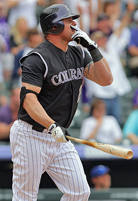 Jason Giambi can still provide some pop for the bargain rate of $1 million. (Getty Images)