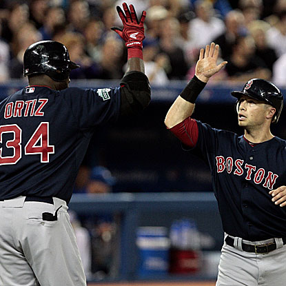 David Ortiz homers and Daniel Nava collects three doubles in the Red Sox's win over the Blue Jays.  (Getty Images)