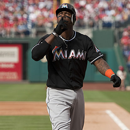 Hanley Ramirez homers twice, driving in three runs, to help lift the Marlins over the Phillies.  (US Presswire)