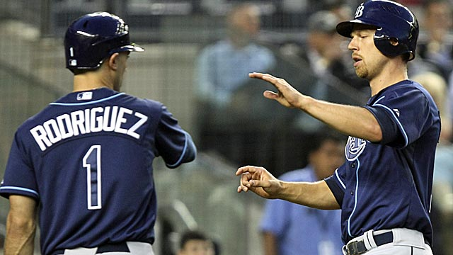 With a victory over the Yankees, the Rays move back into a first-place tie with the Orioles. (AP)