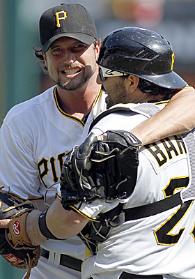 The Pirates 12-3 record since May 25 is the best in baseball. (Getty Images)