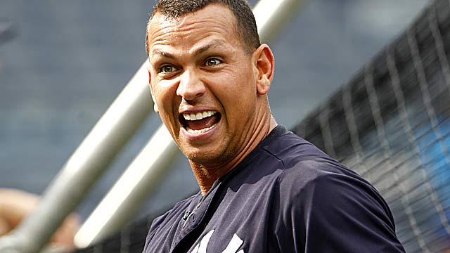 A-Rod, who missed just one game this season, is not in the lineup vs. the Nats. (US Presswire)