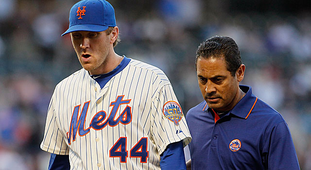 The Mets' Jason Bay is placed on the DL again this season, this time with a concussion. (Getty Images)