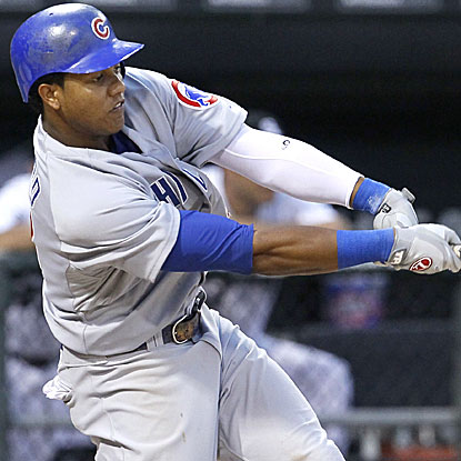 Starlin Castro leads the Cubs' pounding of the White Sox, going 3 for 5 with a homer and two RBI.  (AP)