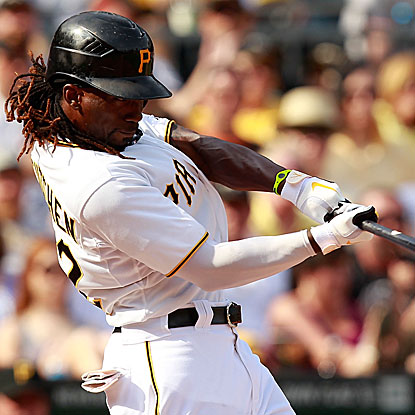 Andrew McCutchen's three-run homer carries the Pirates over the Tigers for their sixth win in seven games.  (Getty Images)