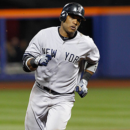 Robinson Cano's eighth-inning home run breaks a tie game and sends the Yankees to their fifth win in six games vs. the Mets.  (US Presswire)