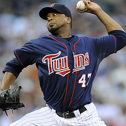 The Twins' Francisco Liriano throws a season-high seven innings to earn his first win in the month of June. (Getty Images)