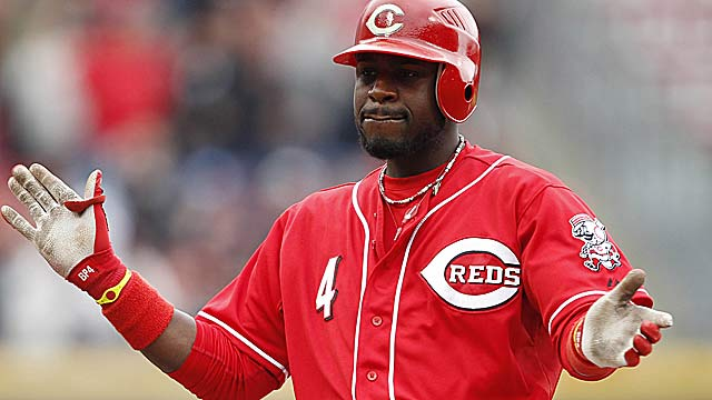 Brandon Phillips might enjoy tweeting during the ASG, but not everyone is embracing the idea. (US Presswire)