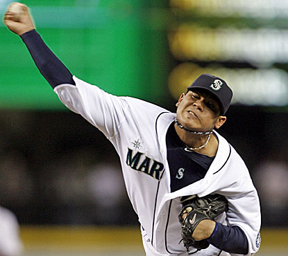 Felix Hernandez whiffs 13 for the third time in his career and throws his fifth career shutout. (US Presswire)