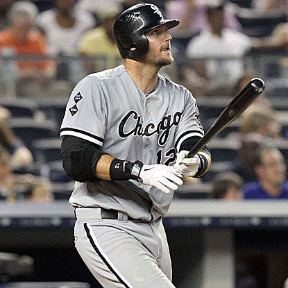 A.J. Pierzynski hits two of the White Sox's four home runs in their victory over the Yankees. (US Presswire)