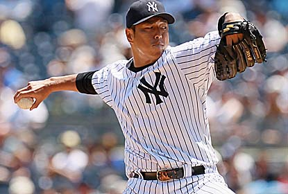 Hiroki Kuroda pitches seven innings of three-hit ball with 11 strikeouts to help end the White Sox win streak at four games. (Getty Images)