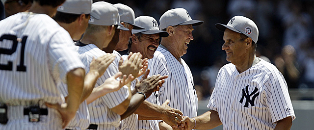 Old-Timers' Day on Sunday brings Joe Torre back to Yankee Stadium (AP)