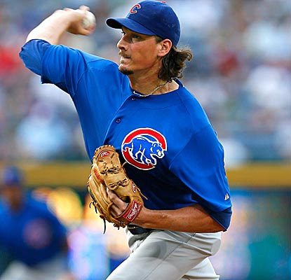 Jeff Samardzija strikes out a career high 11, going seven innings to earn his sixth win of the year.  (Getty Images)