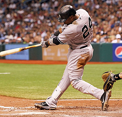 Robinson Cano drives in at least one run for the Yankees in a career-best eight consecutive games. (US Presswire)