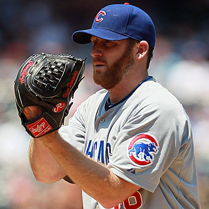 The Cubs' Ryan Dempster comes off the disabled list and allows four hits in five innings to earn the win against the Mets.  (Getty Images)