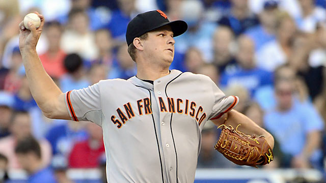 The Giants' Matt Cain pitches two innings and yields a single hit against the AL's finest. (US Presswire)