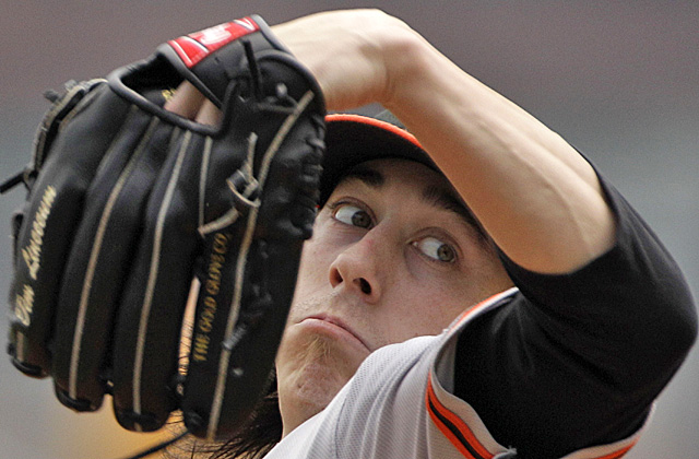 The Giants' No. 1 second-half priority is getting Tim Lincecum back to right. (AP)
