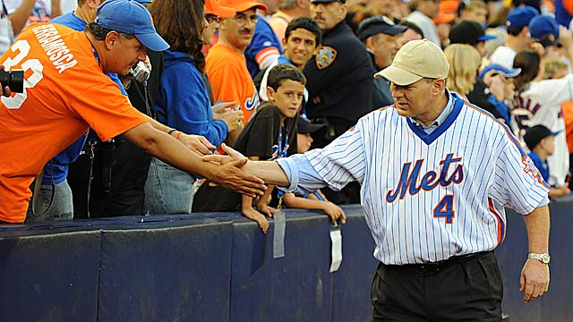 Lenny Dykstra, 49, who played five seasons with the Mets, faces 20 years in prison. (Getty Images)