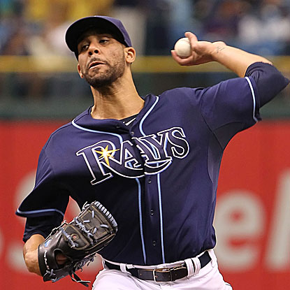With his win on Thursday, the Rays' David Price moves to 5-0 in his career against the Indians.  (US Presswire)