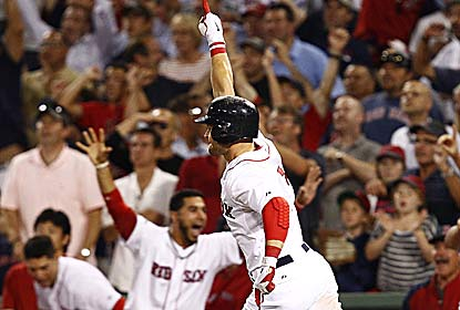 Cody Ross' game-ending home run gives the Red Sox three out of four games in their series with the White Sox.  (US Presswire)