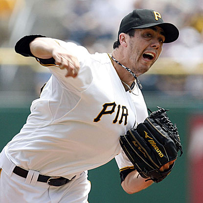 Jeff Karstens throws seven strong innings to beat the Marlins and extend the Pirates' winning streak to five games.  (US Presswire)