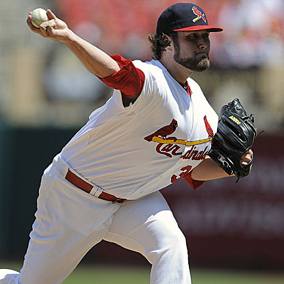 Lance Lynn throws six innings to win his 12th game and help the Cardinals sweep the Cubs. (US Presswire)
