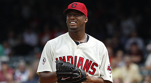The Indians' Roberto Hernandez used the name Fausto Carmona for 12 years. (Getty Images)