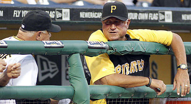 Manager Clint Hurdle looks to guide the Pirates to their first winning season in 20 years. (Getty Images)