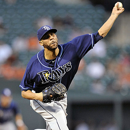 The Rays' David Price defeats the Orioles to win his career-best sixth straight decision. (US Presswire)
