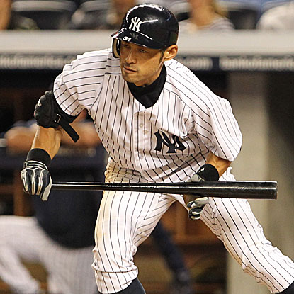 In his first game in Yankee Stadium as a member of the Yankees, Ichiro Suzuki goes 1 for 4 with two runs scored.  (US Presswire)